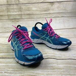 Asics Gel Excite 3 Blue Pink Running Sneakers 11.5